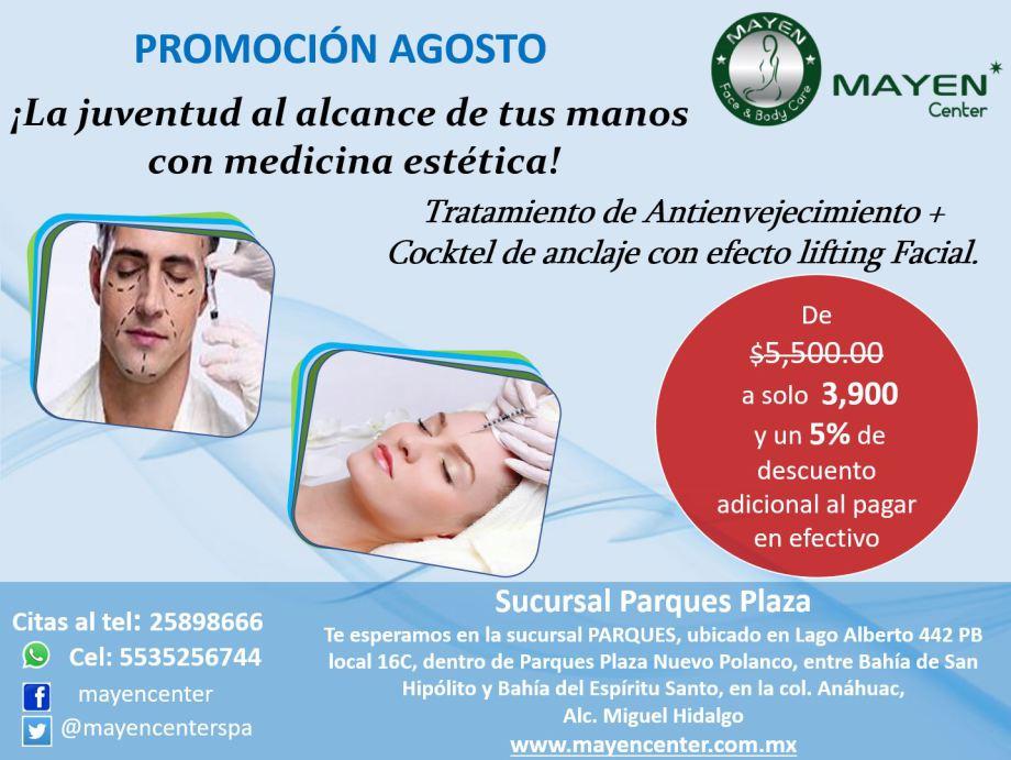 Promoción de agosto - medicina estética