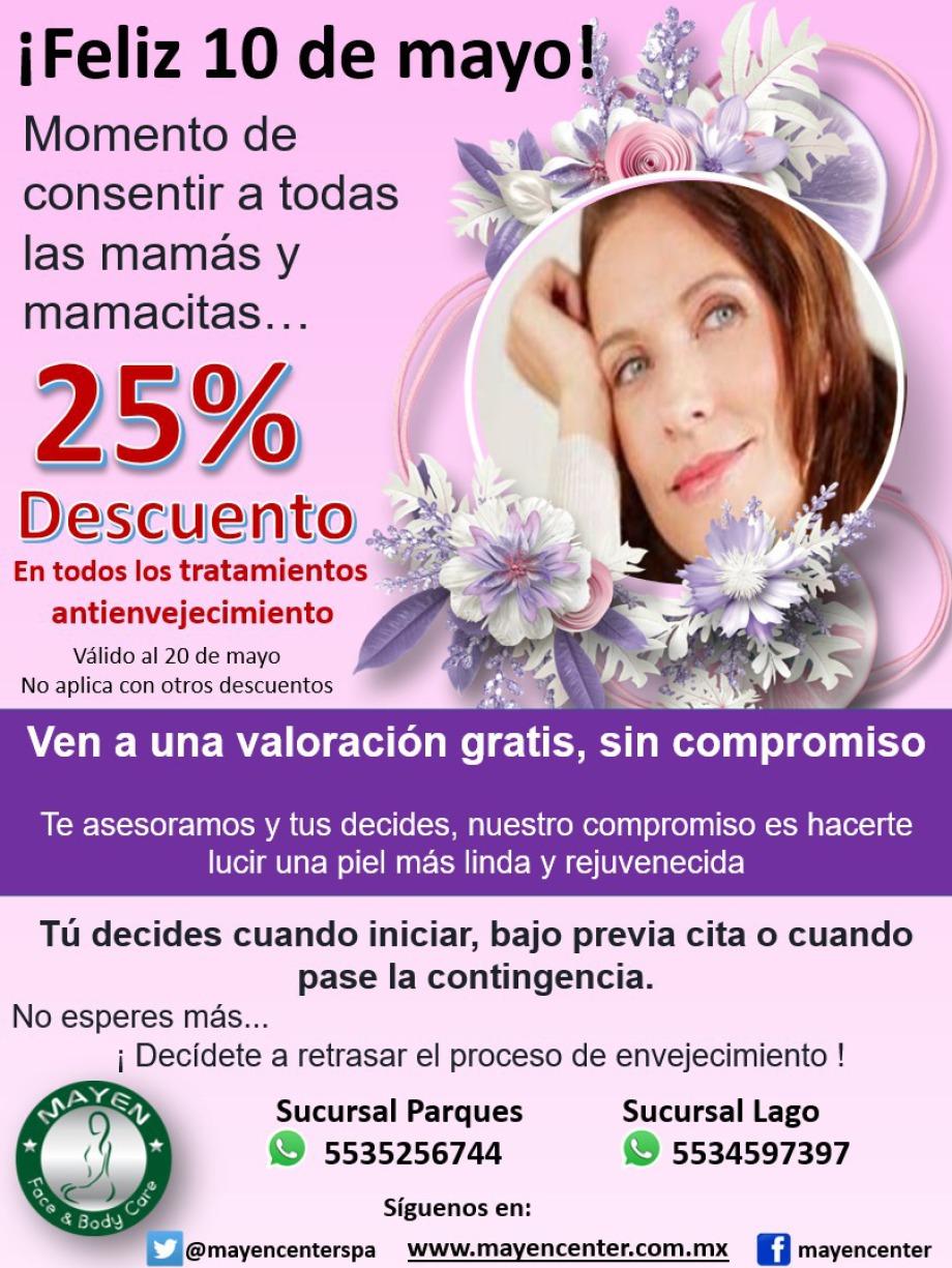 10 de mayo; Promoción día de las madres
